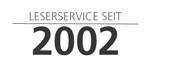 12 Jahre LESERSERVICE