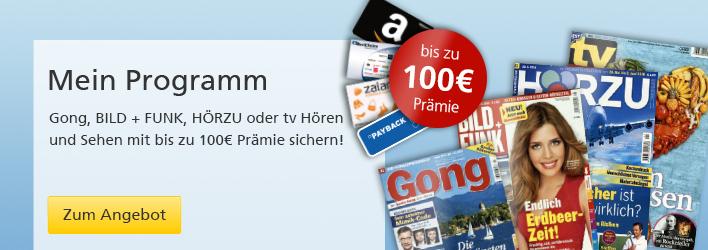 TV Titel im Prämienabo Aktion