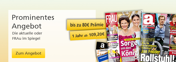 Prominentes Angebot